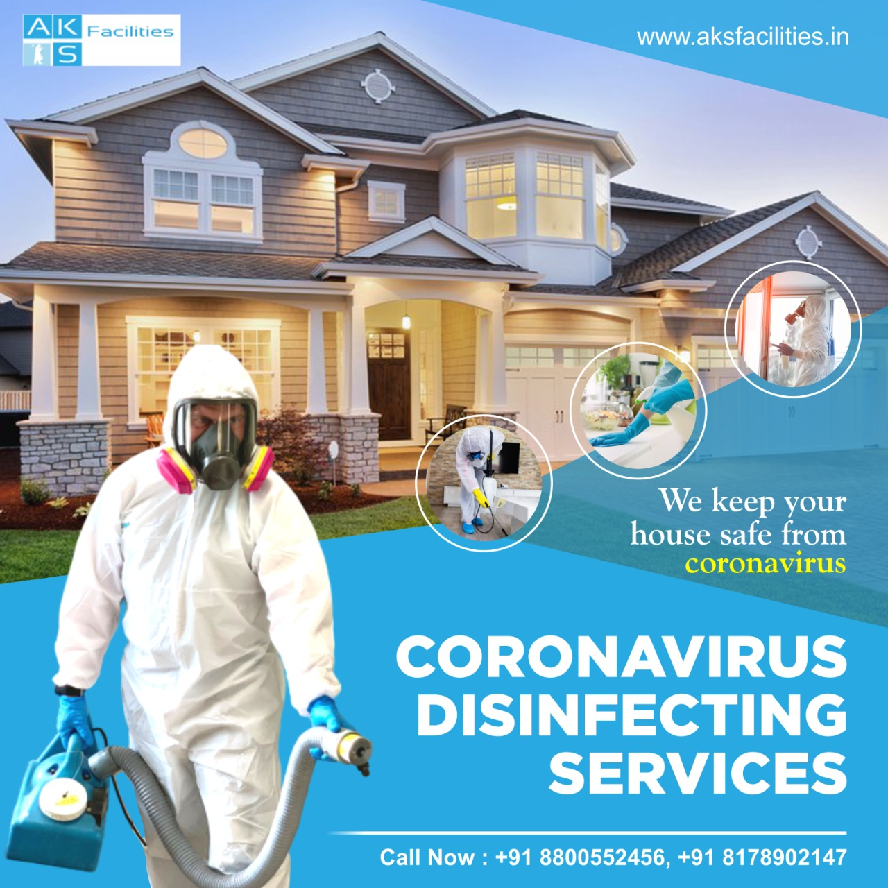 Sanitization services in delhi