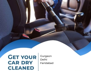 Car Dry Cleaning/Disinfection services