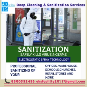 Office & Commercial Sanitization Disinfection